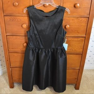CeCe Black Dress with Bow